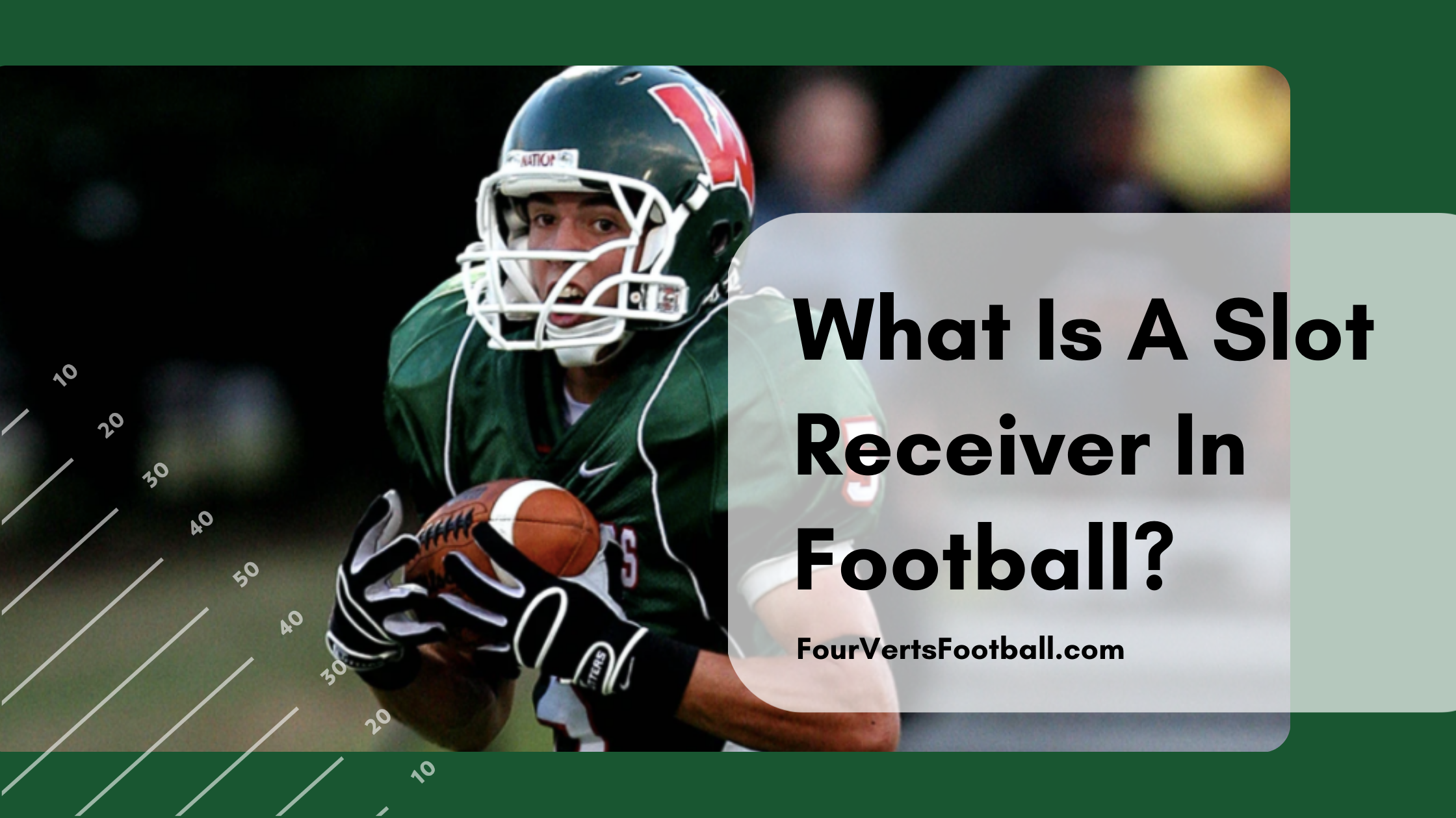 What Is A Slot Receiver