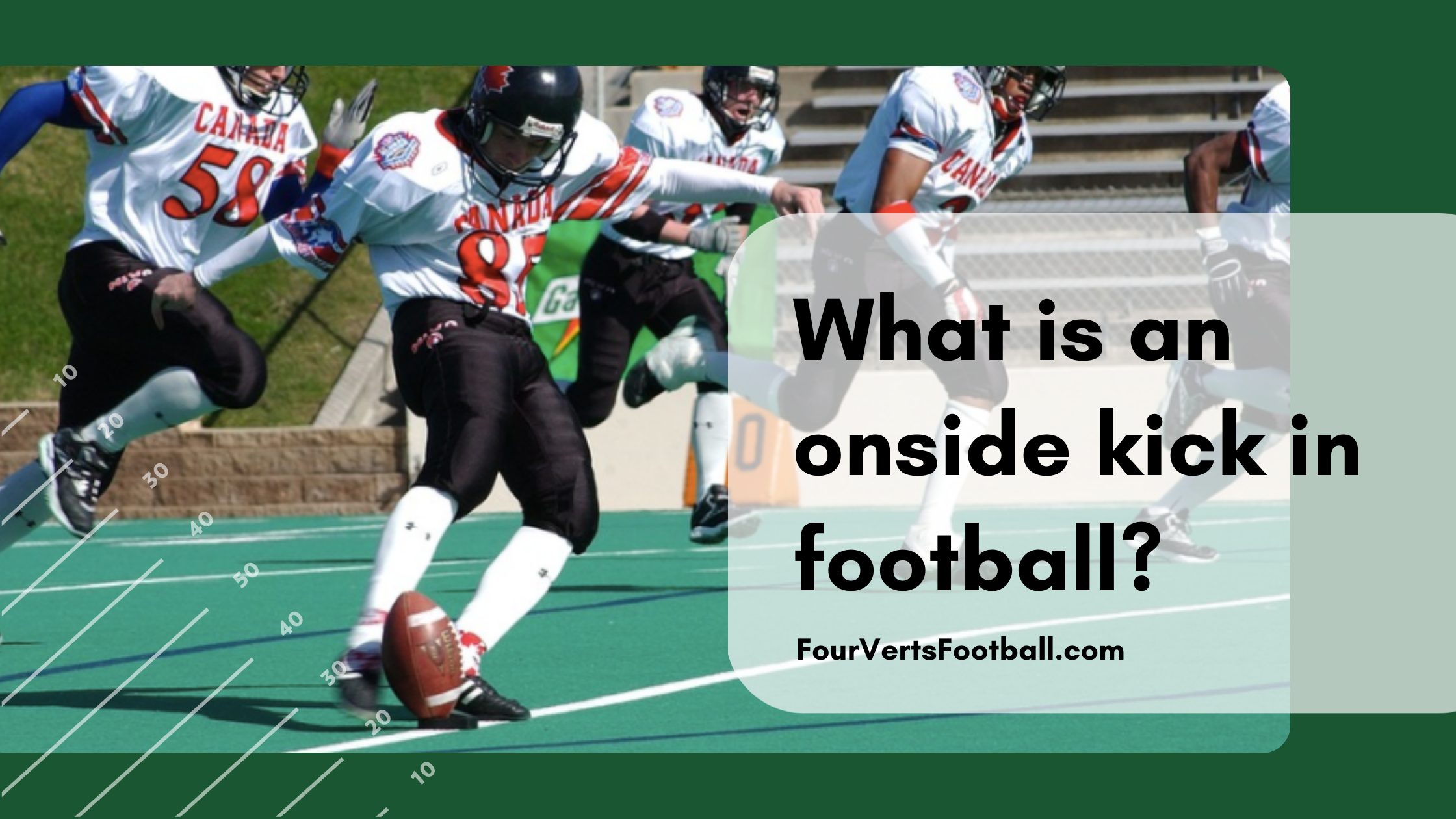 What is an onside kick