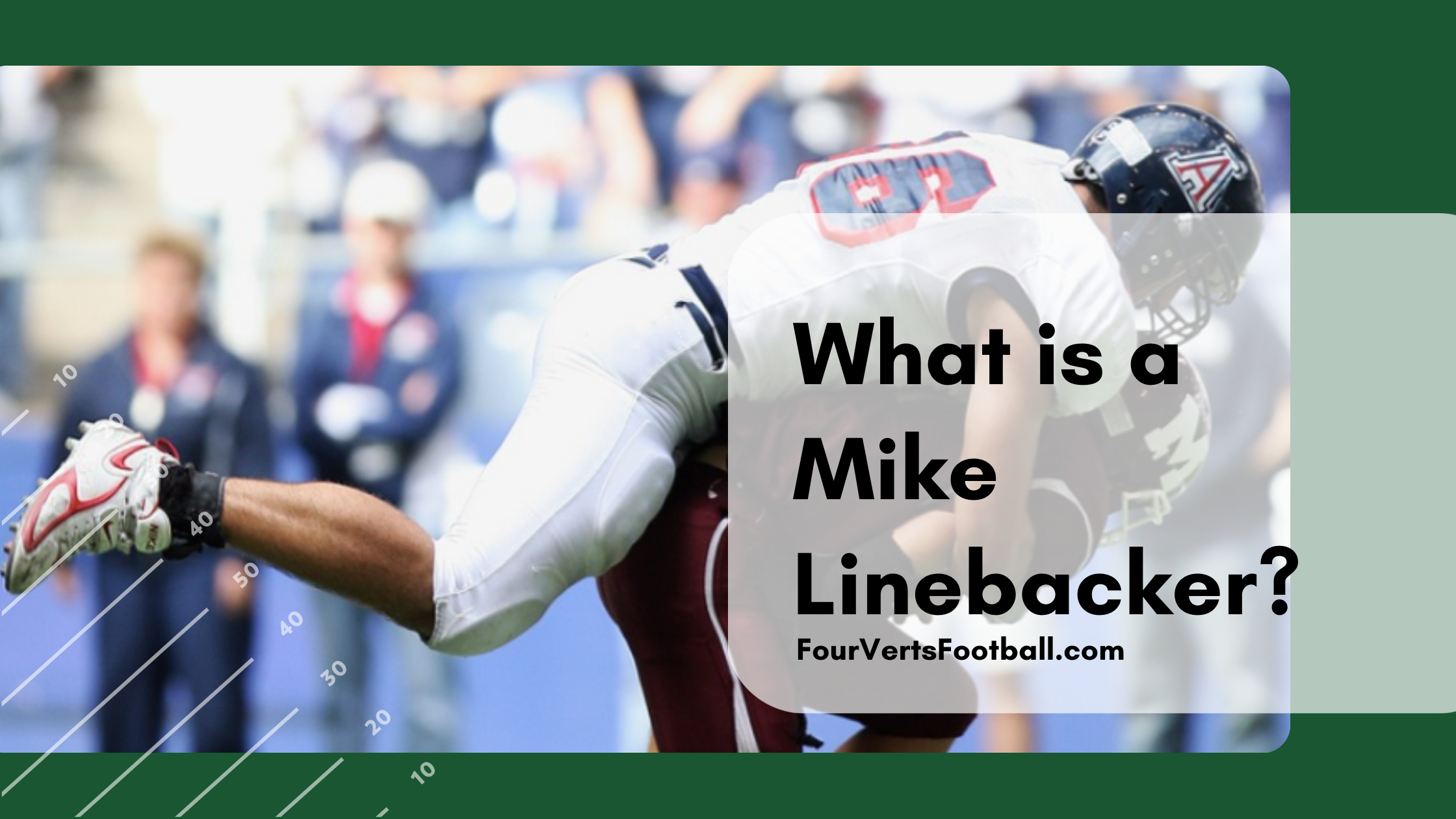 what is a mike linebacker