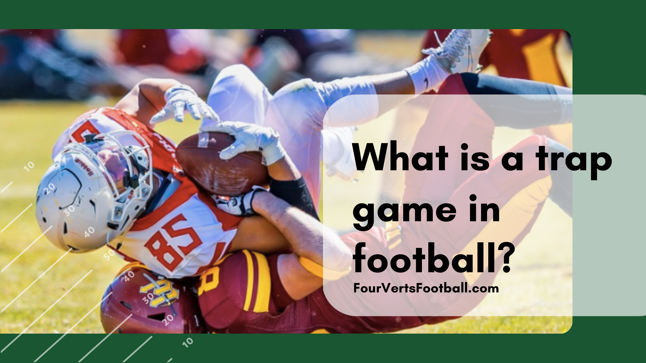 What is a trap game in football