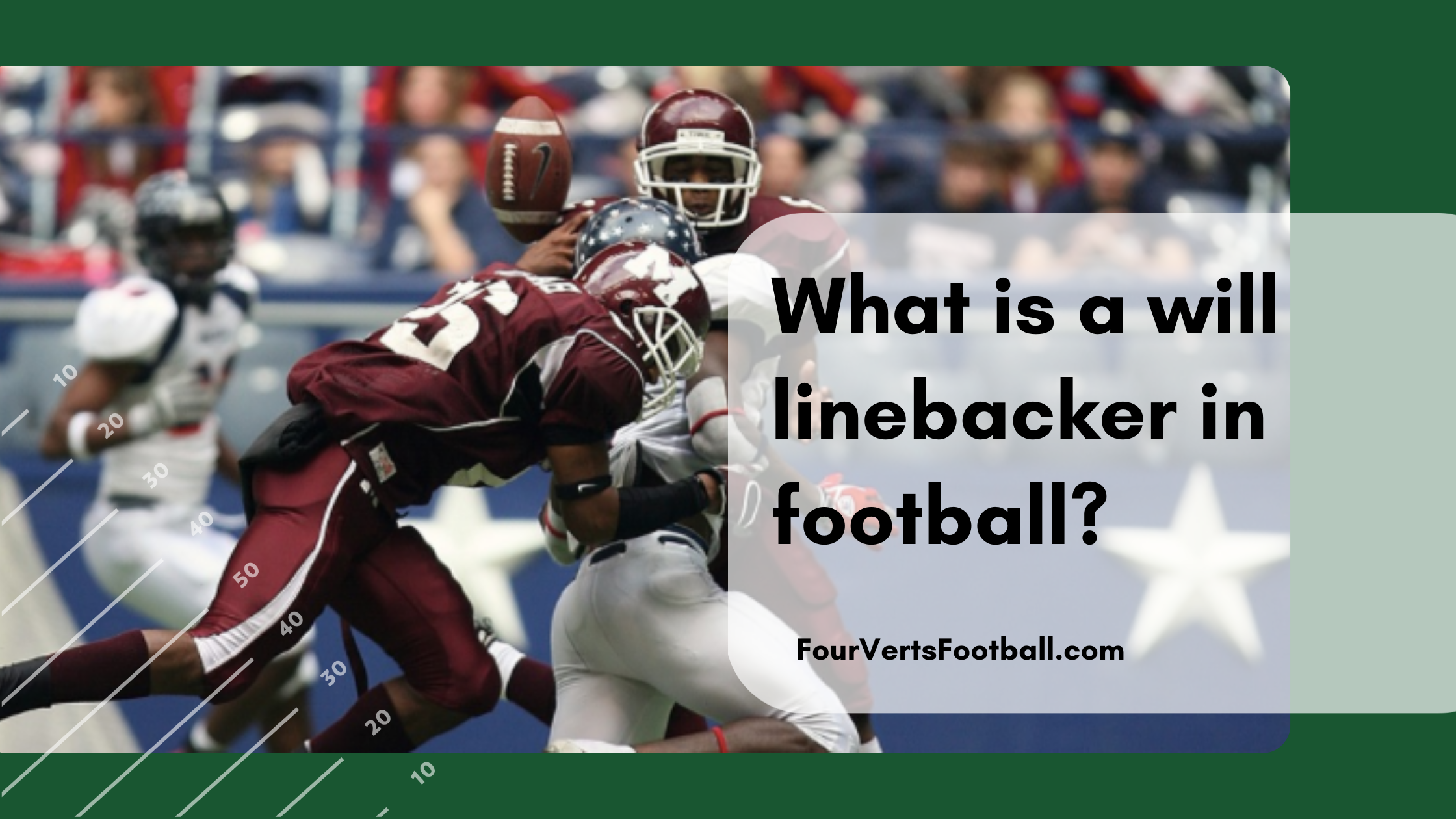 what is a will linebacker