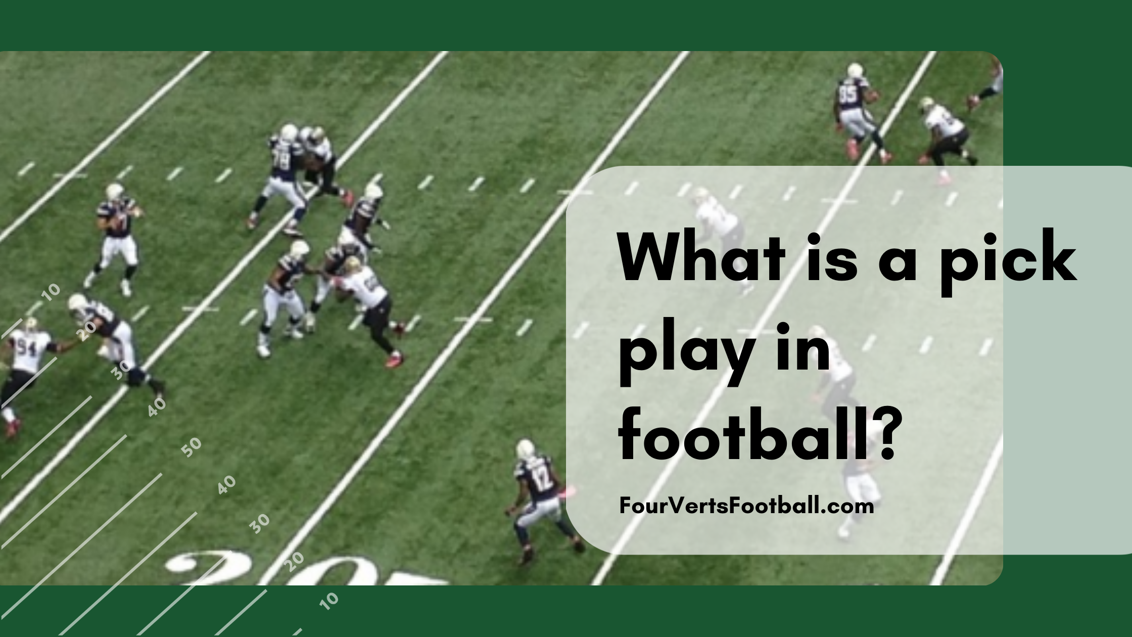what is a pick play