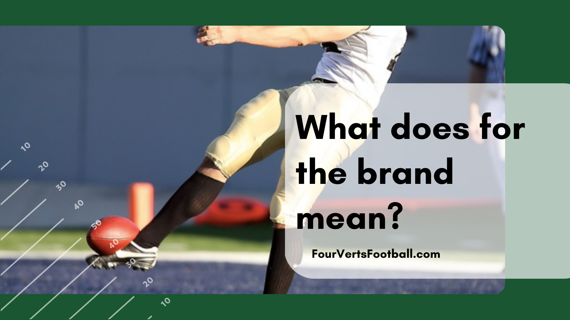 What does for the brand mean