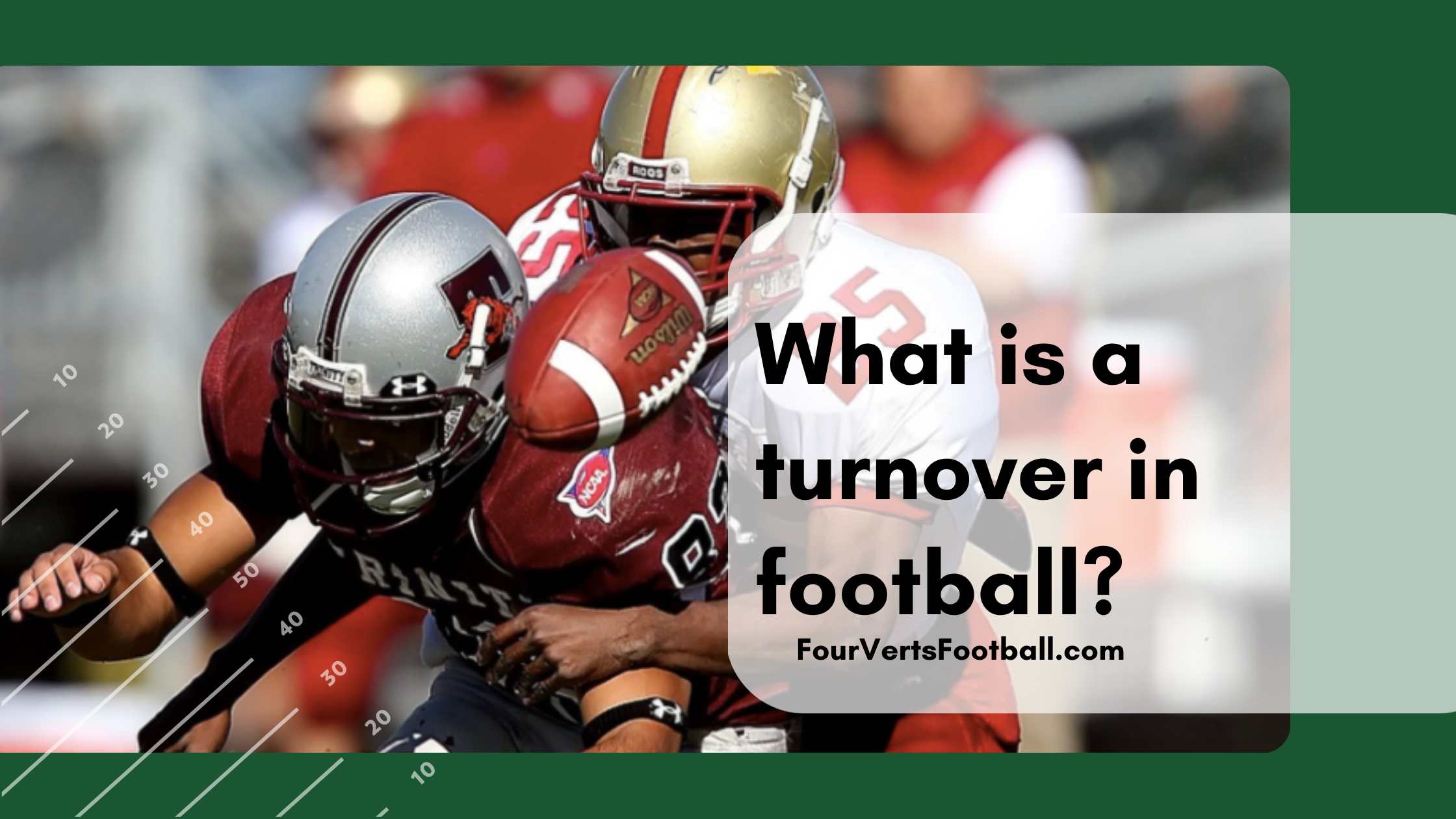 turnover in football