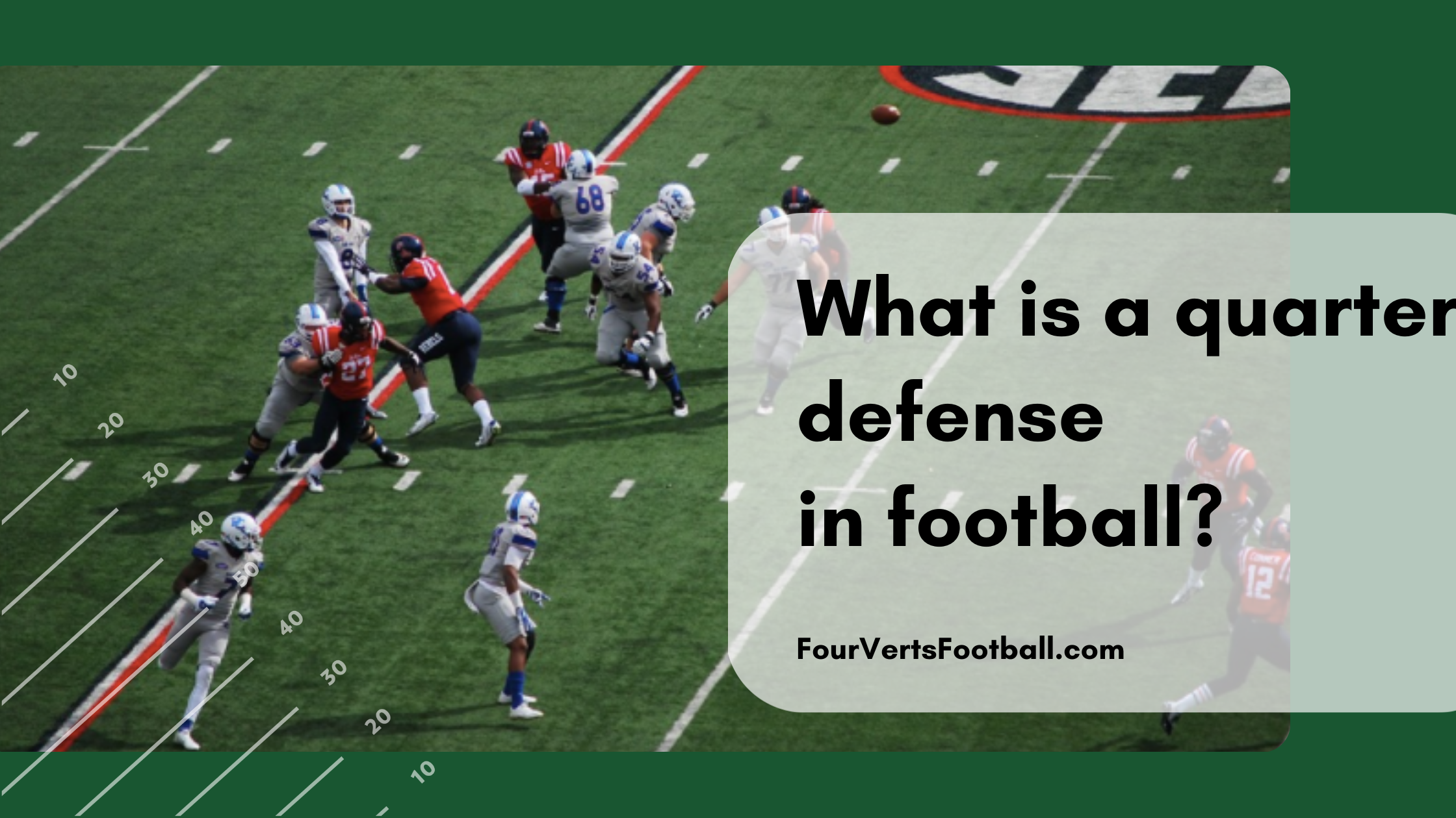 what is a quarter defense
