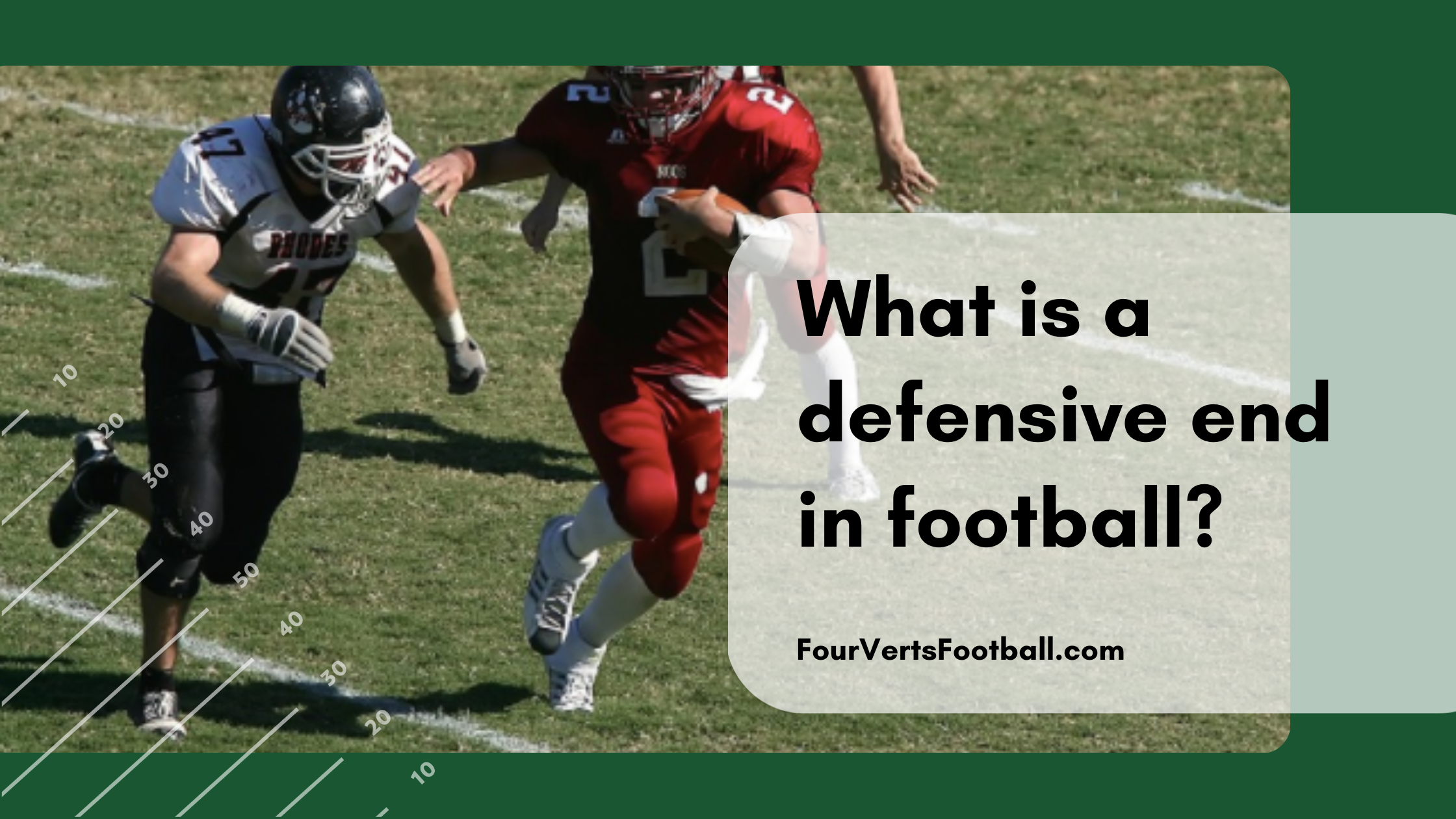 what is a defensive end