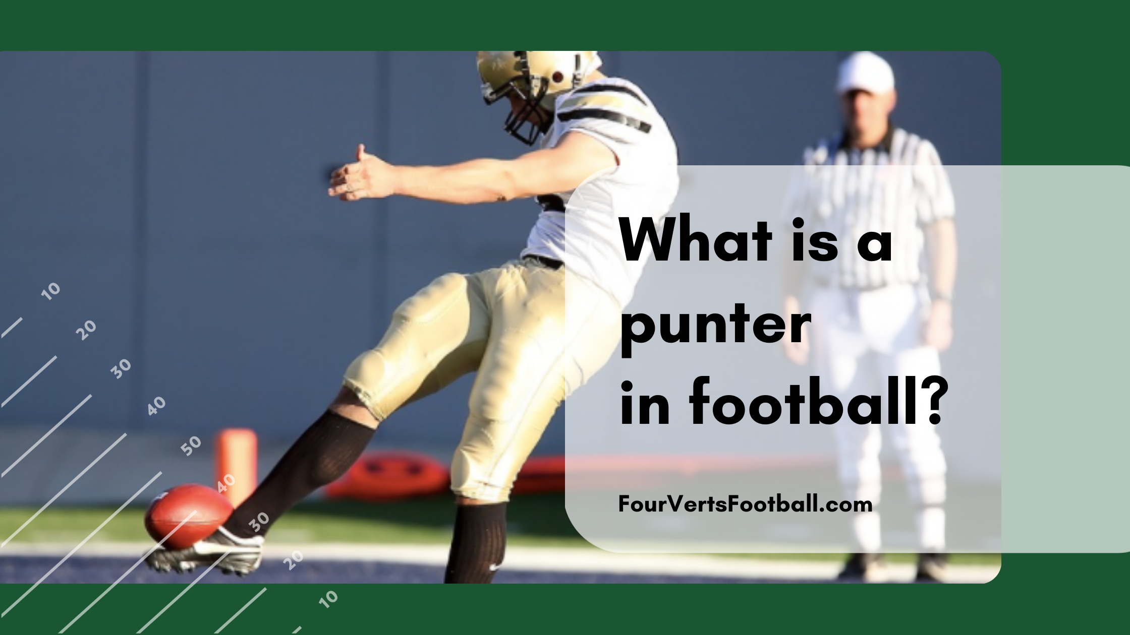 What is a punter