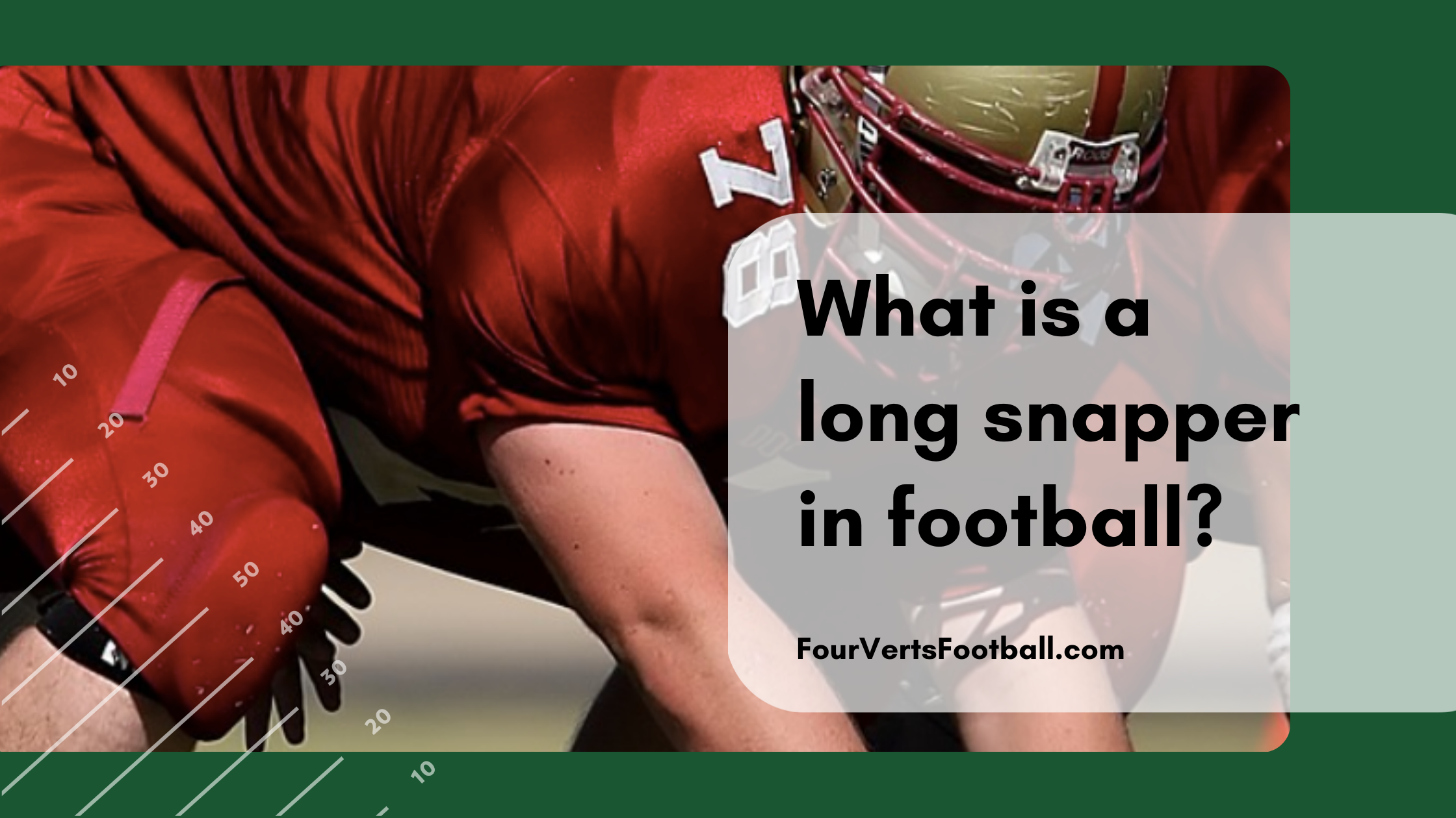 what is a long snapper