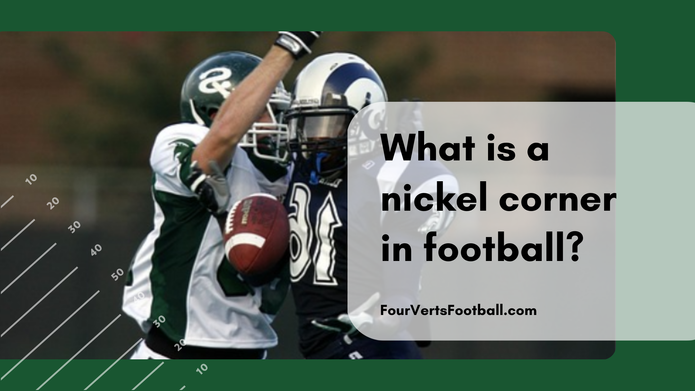 what is a nickel corner