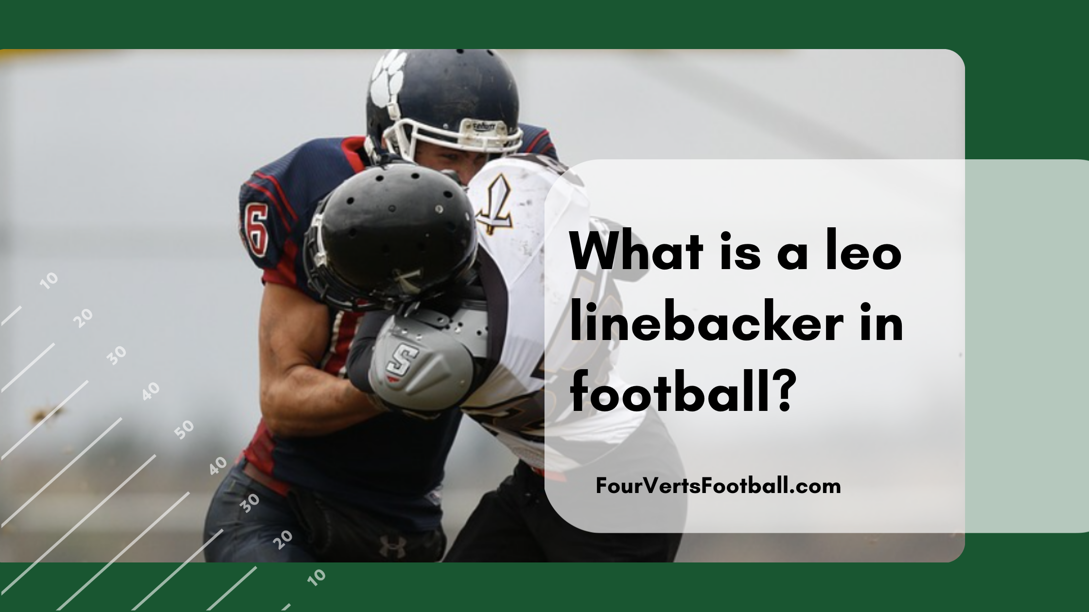 what is a leo linebacker