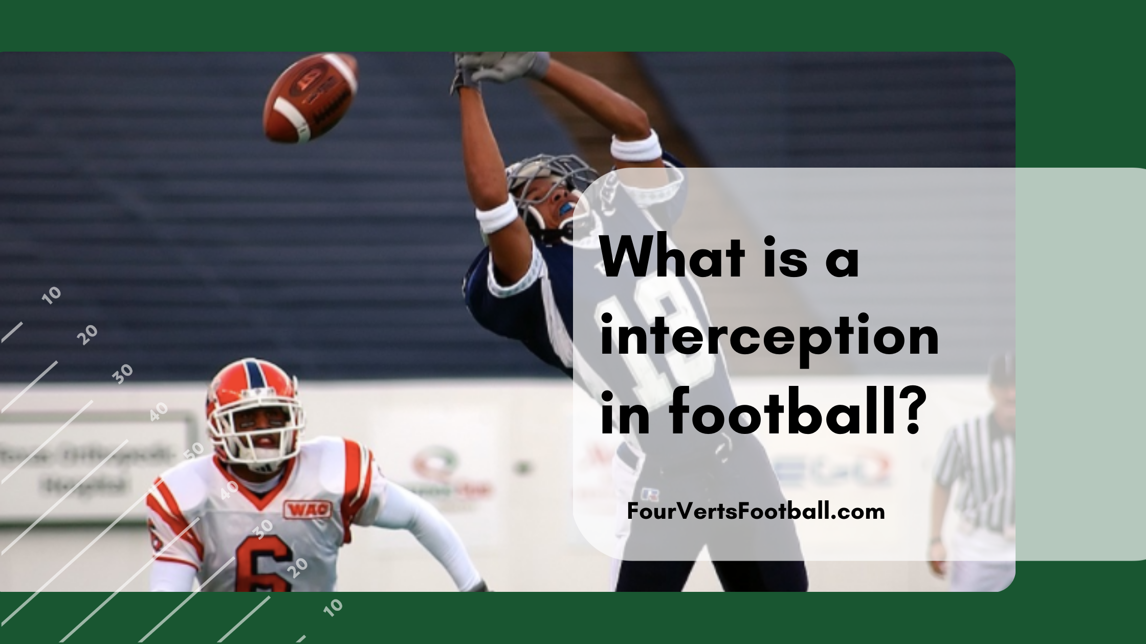 what is an interception