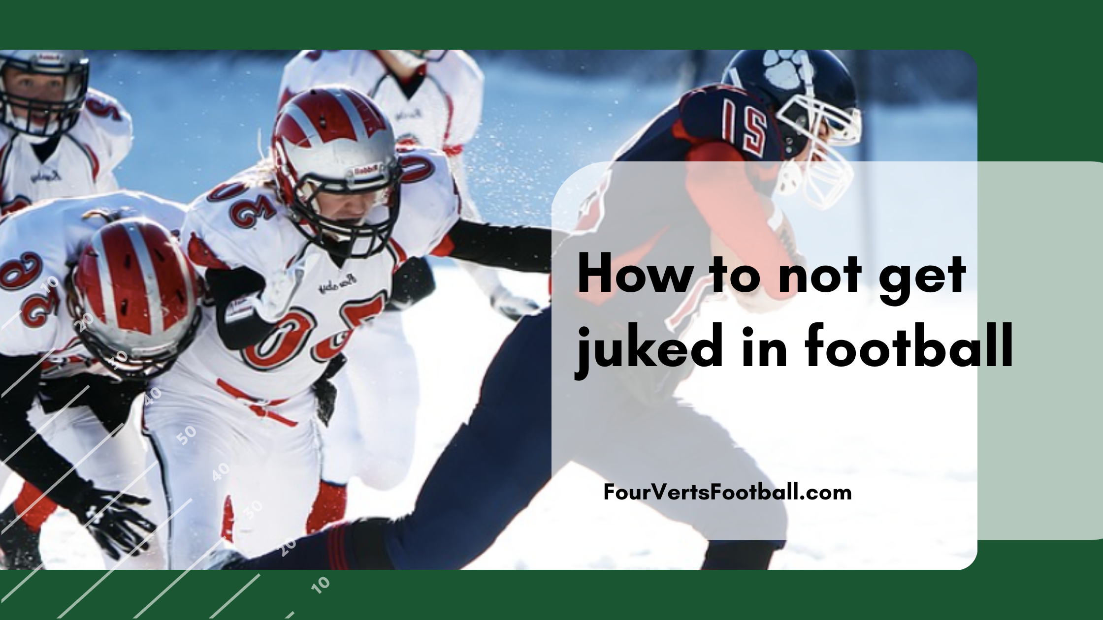how to not get juked