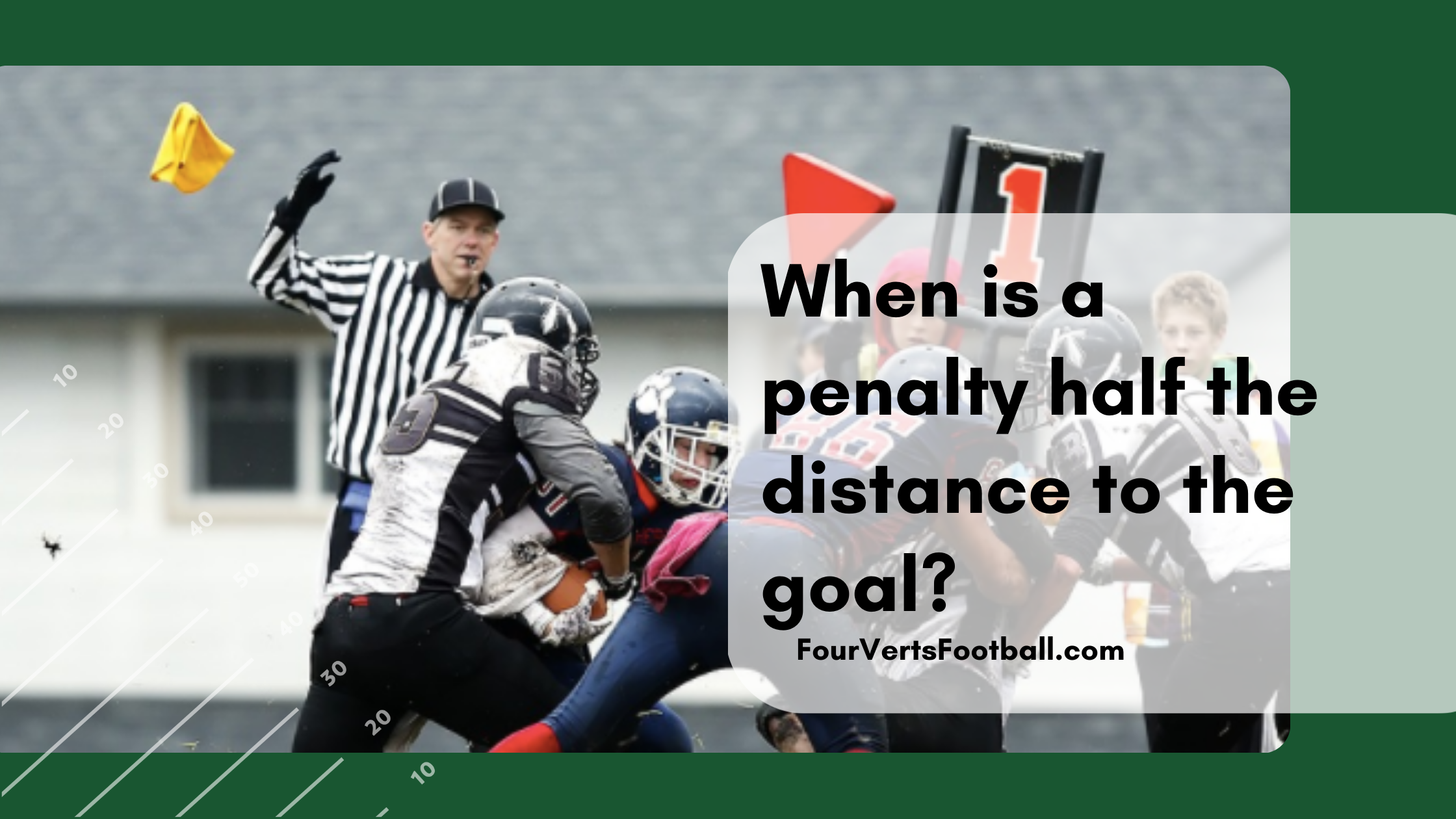 half the distance to the goal