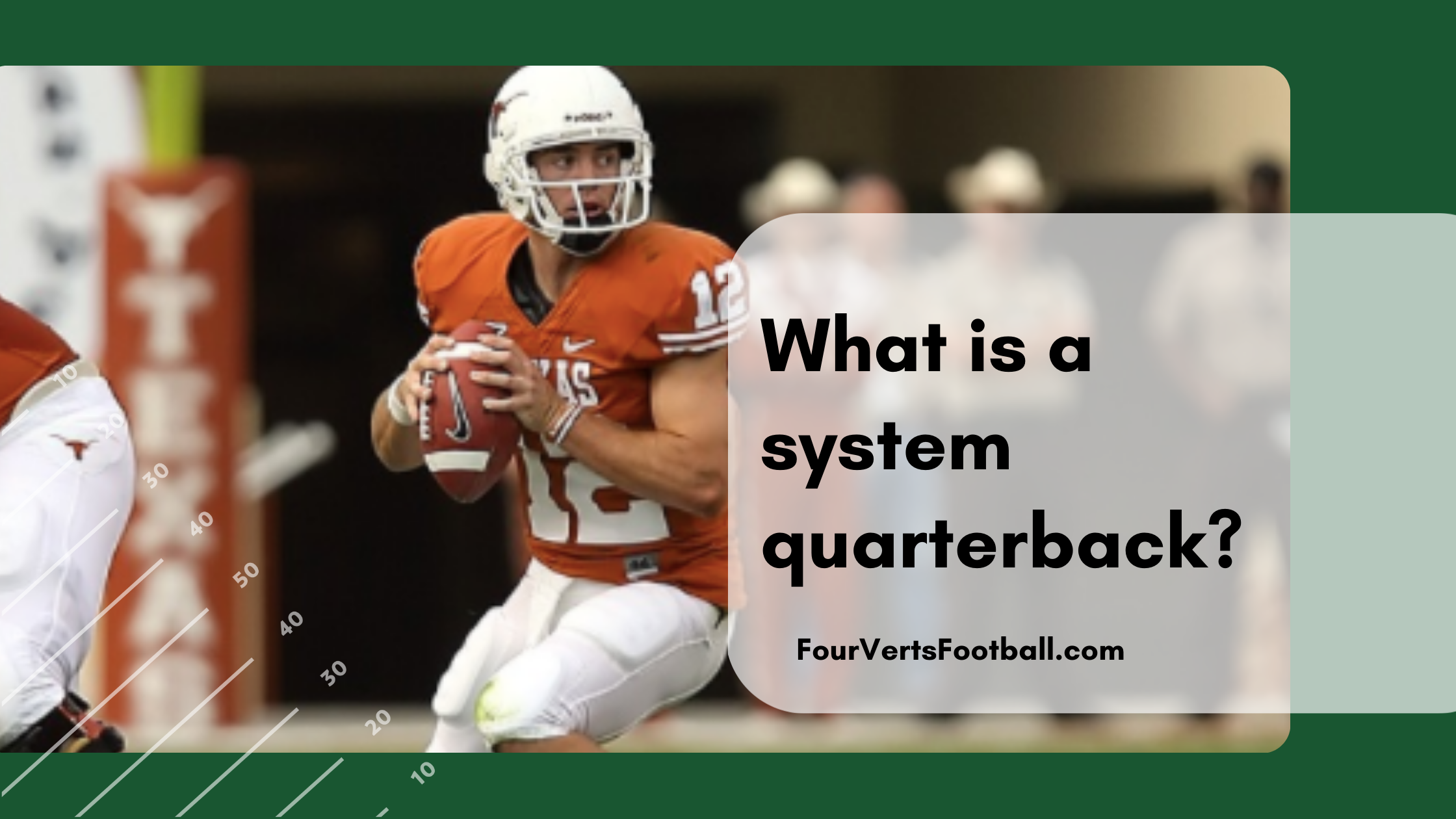 what is a system quarterback