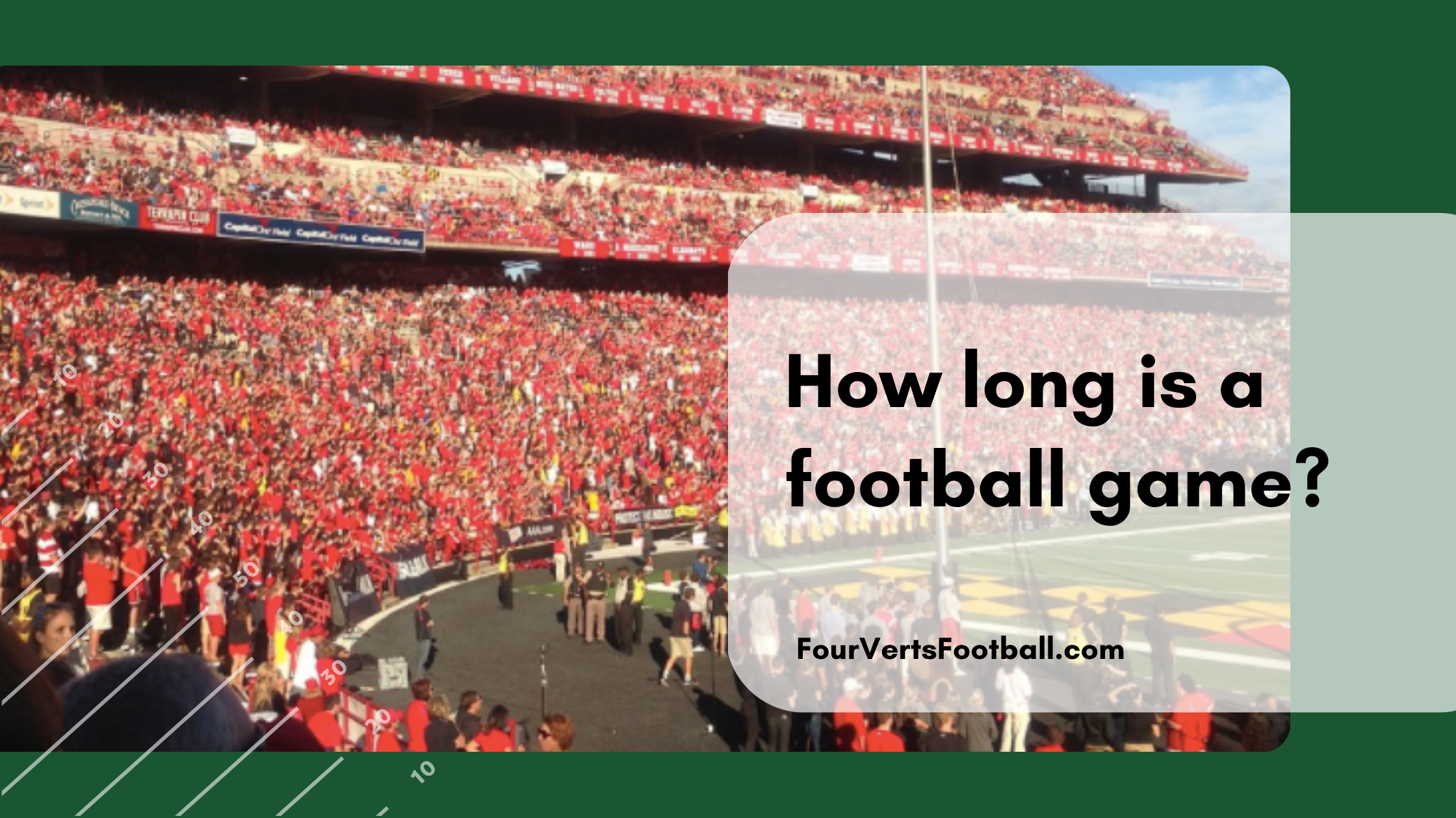 how long is a football game