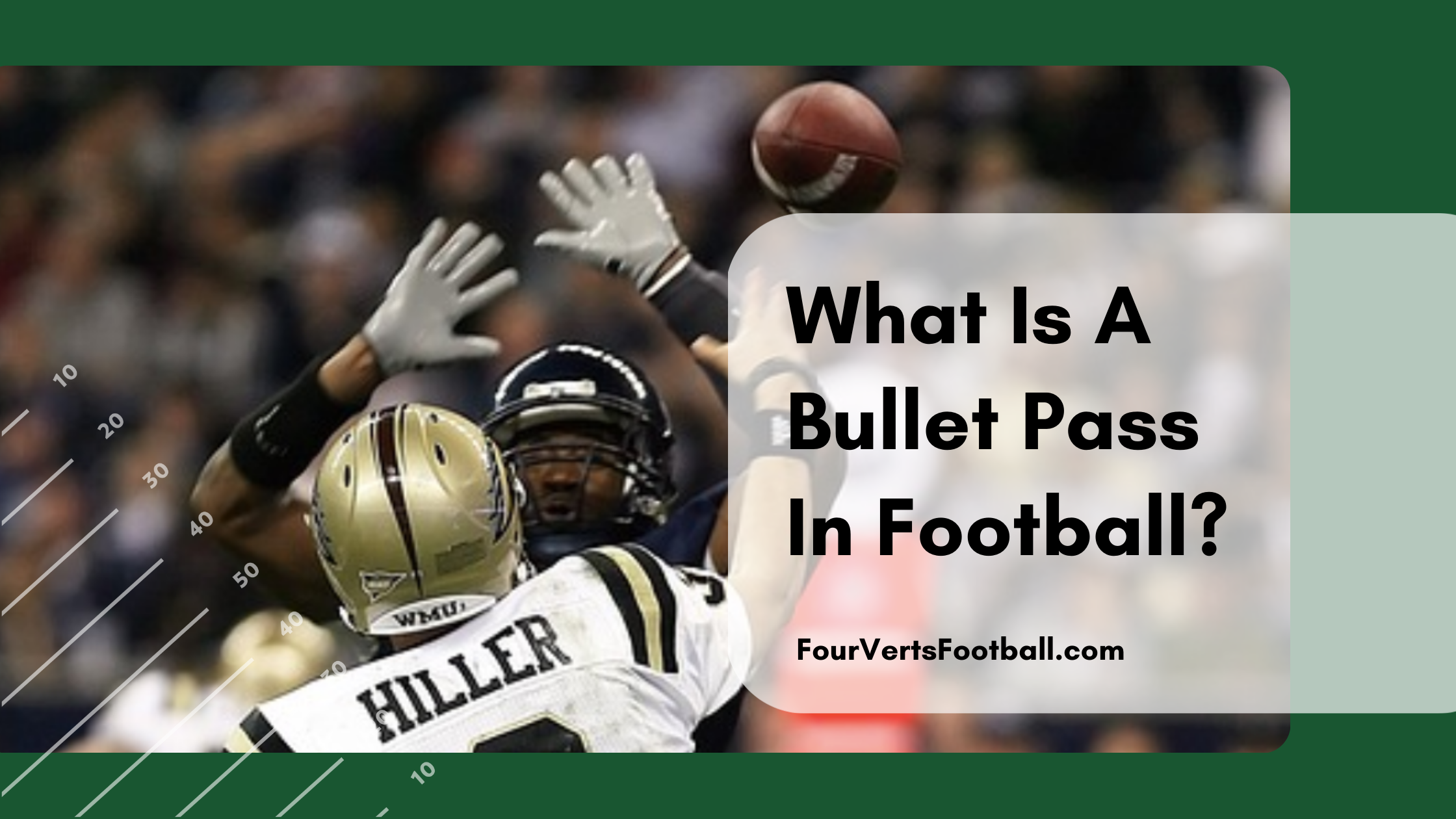 what is a bullet pass