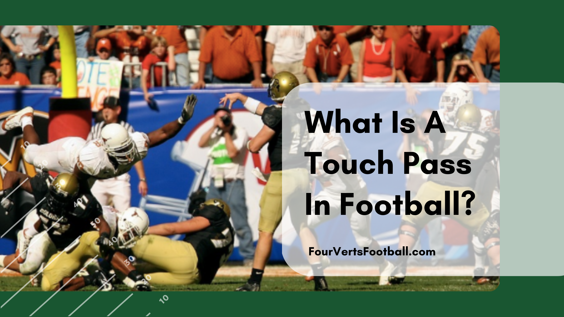 what is a touch pass