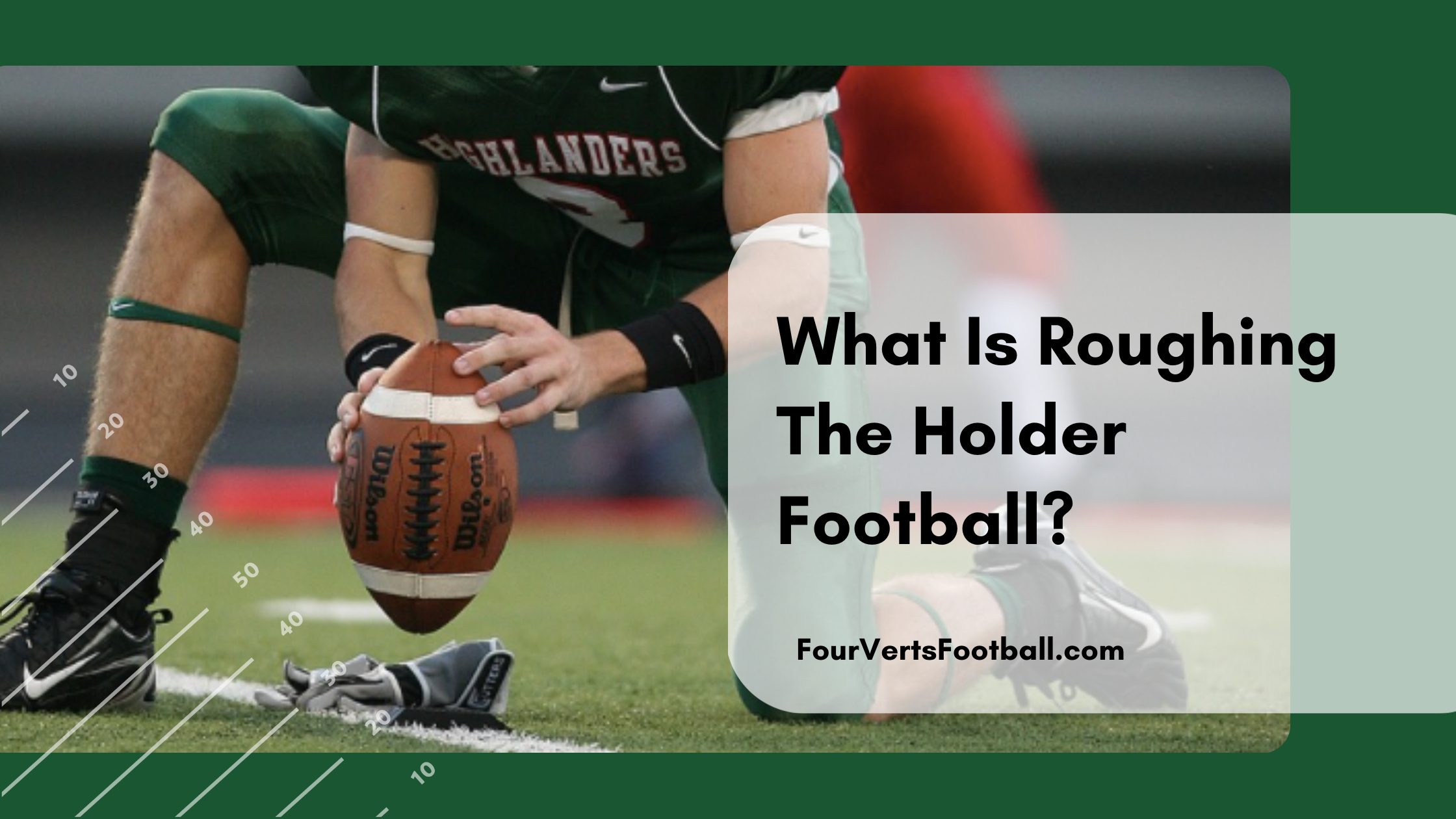 roughing the holder
